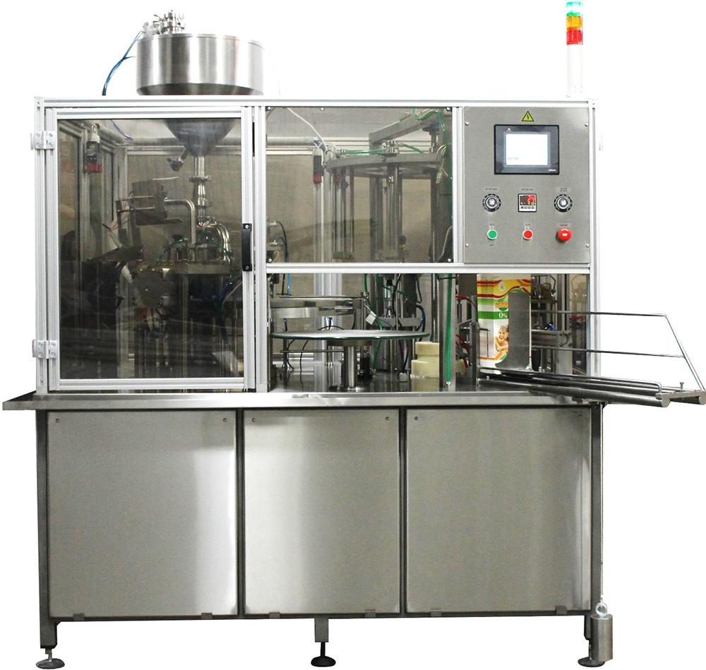 Современное оборудование для розлива пива в стеклянную